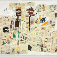 Jm Basquiat Peter And The Wolf 1985