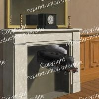 Magritte Zeit Transfixed