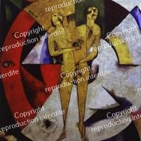 Marc Chagall Hommage an Apollinaire