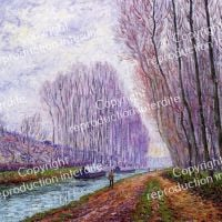 Picabia Barges On The Loing Morning Effect - 1904