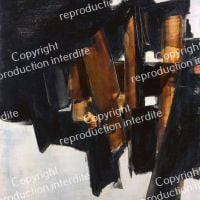 Pierre Soulages Painting March 14, 1960