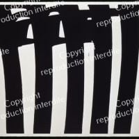Pierre Soulages Painting 202 X 327 Cm January 17, 1970