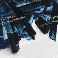 Pierre Soulages Painting November 21, 1959