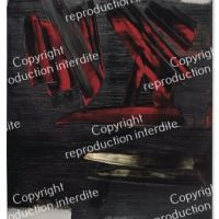 Pierre Soulages Painting December 23, 1959