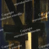 Pierre Soulages Painting December 6, 1954
