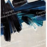 Pierre Soulages Painting July 9, 1961