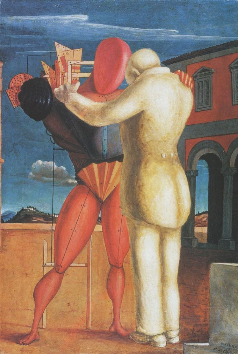 Tableaux sur toile, reproduction de Chirico, The Prodigal Son