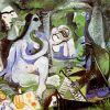 Picasso, Le Dejeneur Sur l'Herbe, 60x73cm