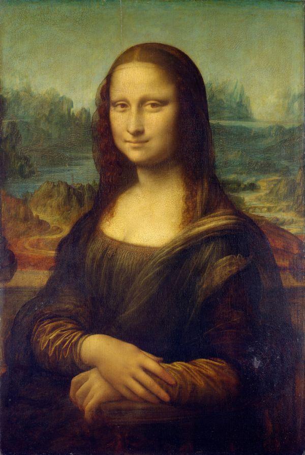 Reproduction de Léonard de Vinci, La joconde - Mona Lisa. Tableau peint à la main dans nos ateliers. Peinture à l'huile sur toile.