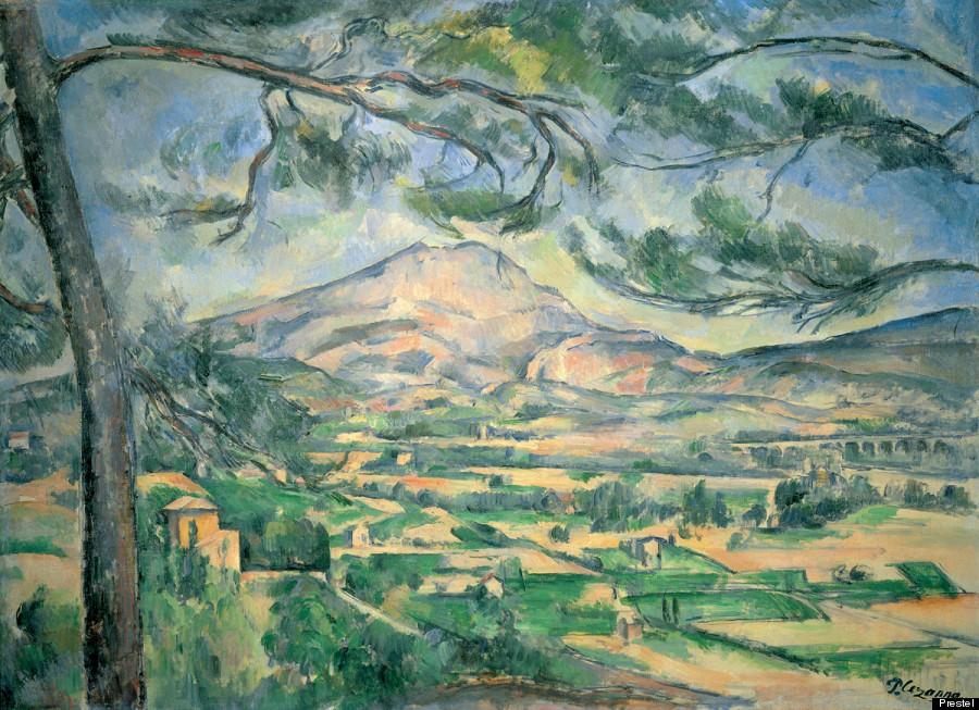 Paul Cézanne 'Montagne Sainte-Victoire » (1887)