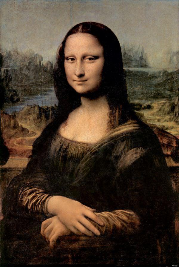 Leonard de Vinci 'Mona Lisa (La joconde) » (1503-1506)