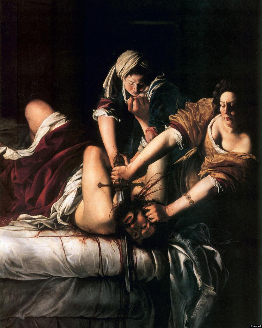 Artemisia Gentileschi « Judith décapitant Holofernes » (1620)