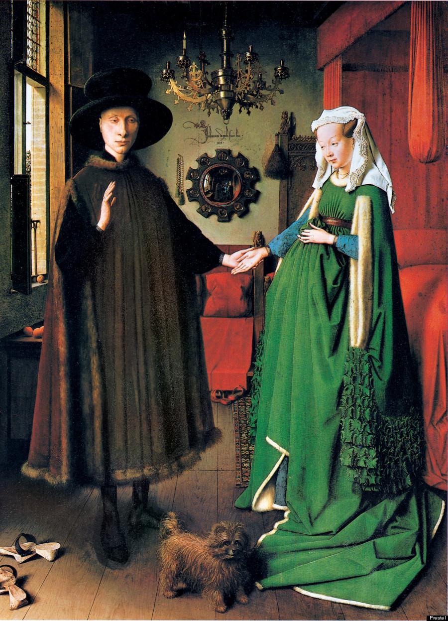 Jan Van Eyck's « Le portrait d'Arnolfini » (1434)