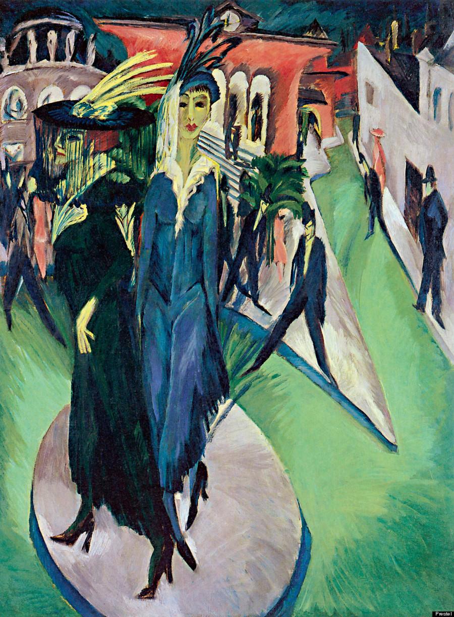 Ludwig Kirchner « Potsdamer Platz » (1914)