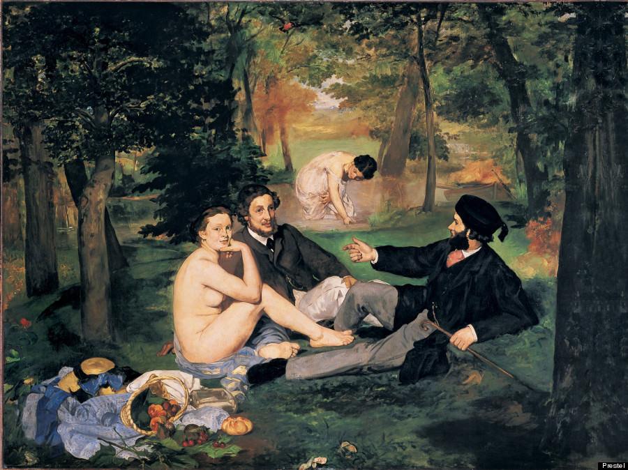 Edouard Manet « Le déjeuner sur l'herbe » (1863)