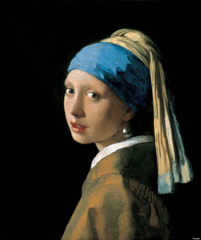 Johannes Vermeer « La jeune fille à la perle » (1665)