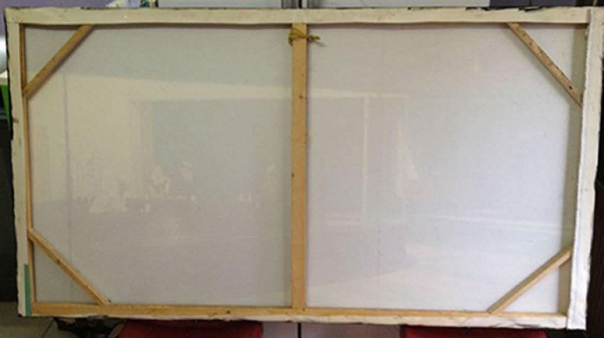 comment tendre un tableau sur toile sur un ch ssis en bois art du blog. Black Bedroom Furniture Sets. Home Design Ideas