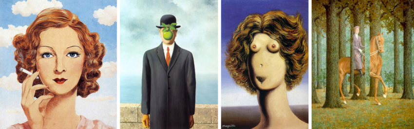 Magritte et la pensée visible