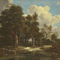 Jacob van Ruisdael, Orée de forêt avec un champ de céréales