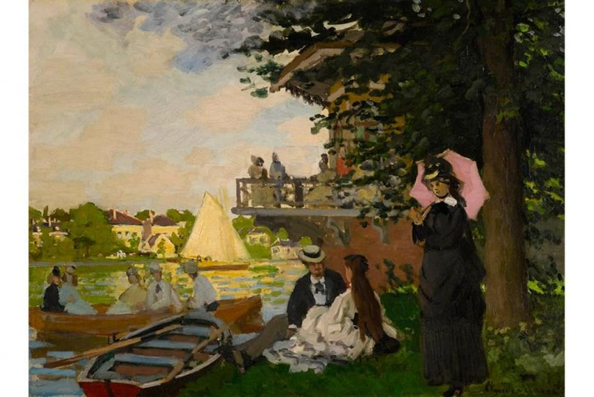 L'embarcadère de Claude Monet mis en vente par Sotheby's Londres