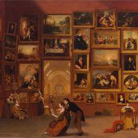 La galerie du Louvre, pièce maîtresse de Samuel Morse au Huntington
