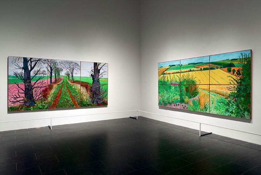 Rétrospective David Hockney au Metropolitan Museum of Art (Met)
