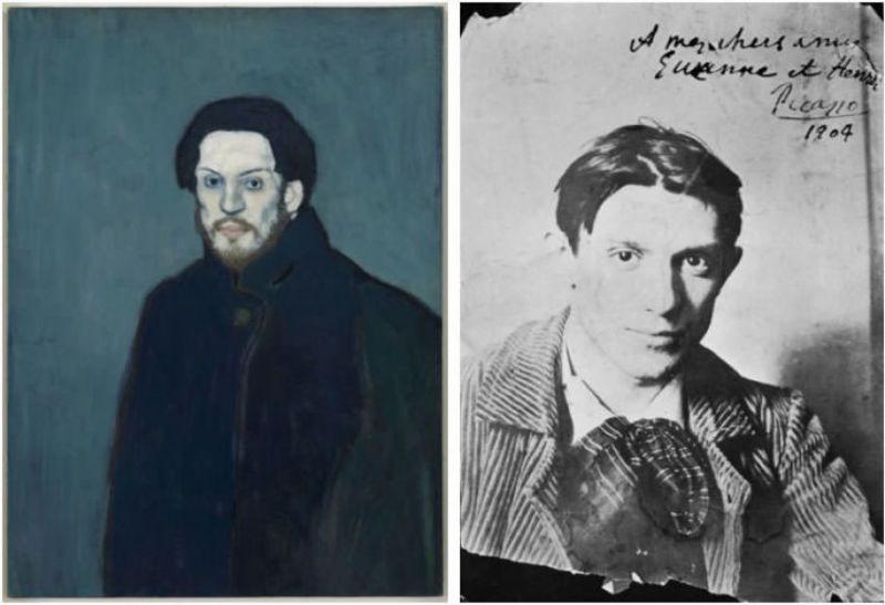 La période bleue de Picasso