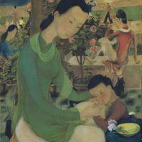 La vie de famille par l'artiste Vietnamien Le Pho établi un record à Sotheby's
