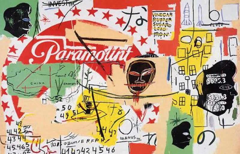 Warhol-Basquiat, Le tableau Paramount