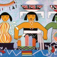 Une peinture murale d'artistes Hopis exposée au musée des arts de Dallas – 7 Jan au 2 Déc, 2018