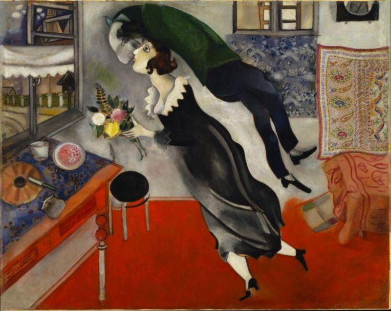Pourquoi l'identité Juive de Marc Chagall s'est elle révélée cruciale pour ses meilleures œuvres?