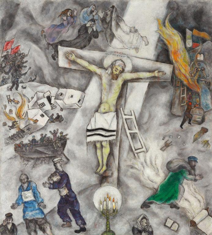 Marc Chagall, Le Christ blanc