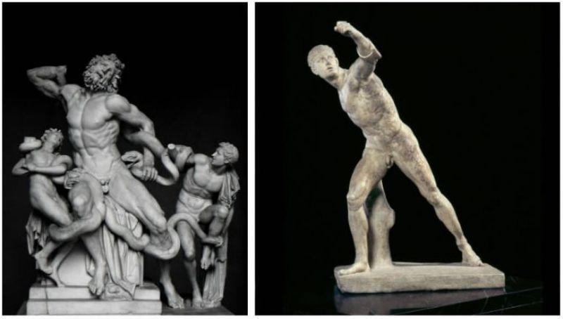Pourquoi les anciennes statues Grecques ont-elles de petits pénis?