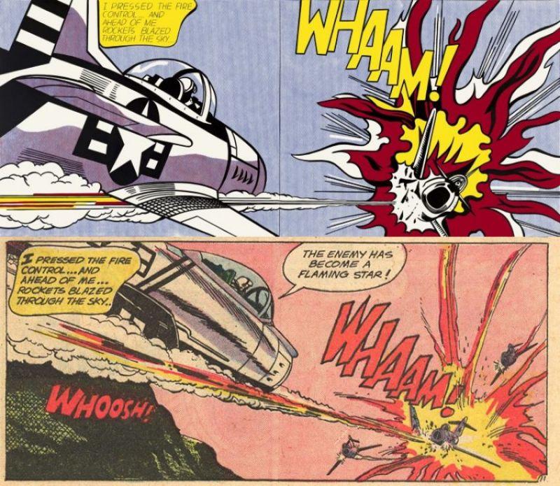 Roy Lichtenstein et la bande dessinée – Génie ou plagiaire?