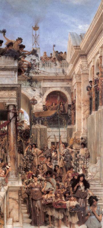 Alma Tadema, Printemps
