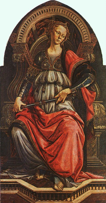 Botticelli, La Force