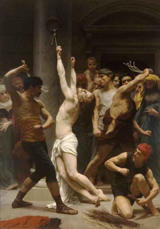 Bouguereau, La flagellation du Christ