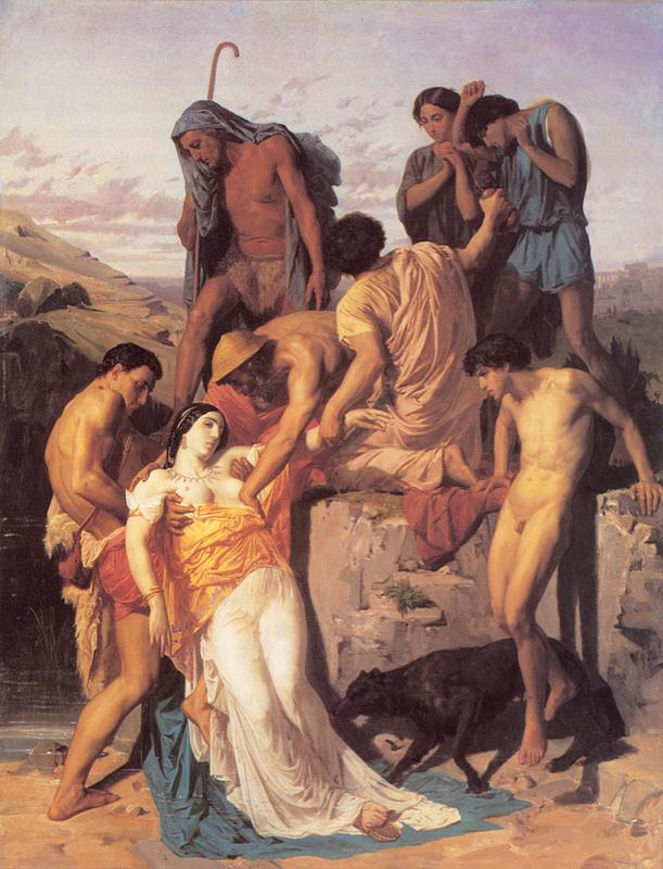 Bouguereau, Zenobia trouvée par les bergers