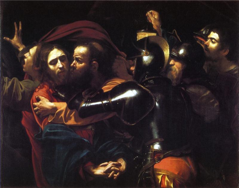 Caravage, L'Arrestation du Christ