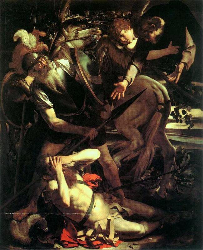 Caravage, La Conversion de saint Paul
