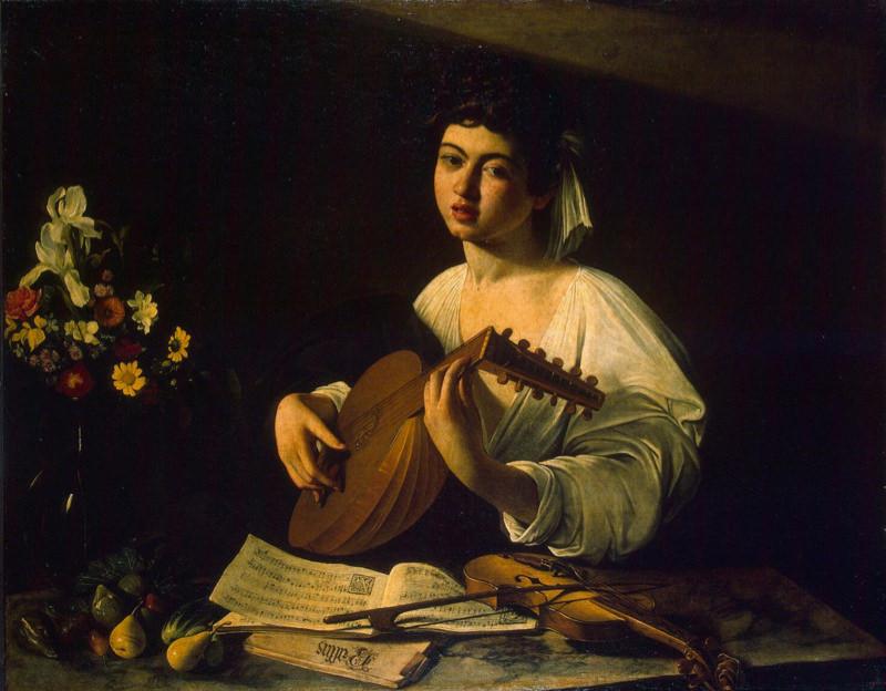 Caravage, Le Joueur de luth - 1596