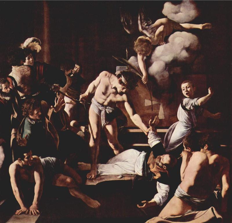 Caravage, Le Martyre de saint Matthieu