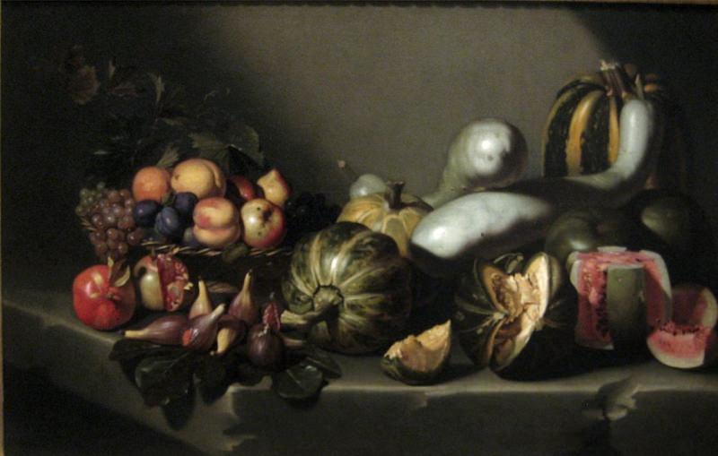 Caravage, Nature morte aux fruits