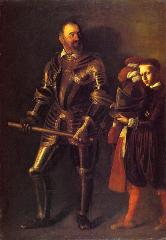 Caravage, Portrait d'Alof de Wignacourt