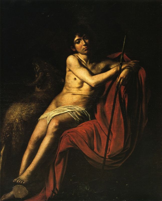 Caravage, Saint Jean-Baptiste -1610
