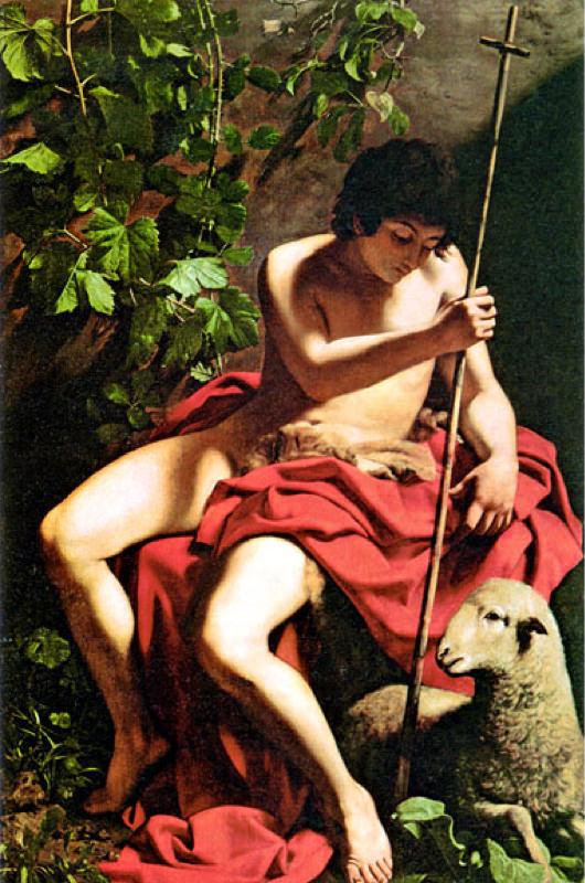 Caravage, Saint Jean-Baptiste - 1598