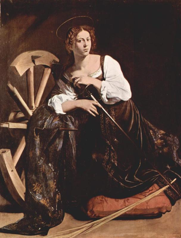 Caravage, Sainte Catherine d'Alexandrie