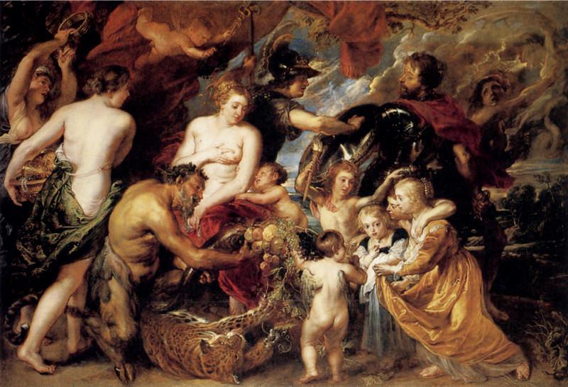 Rubens, Allégorie de la paix et de la guerre