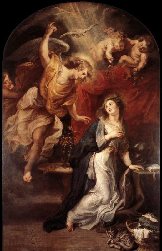 Rubens, Annonciation - 1628