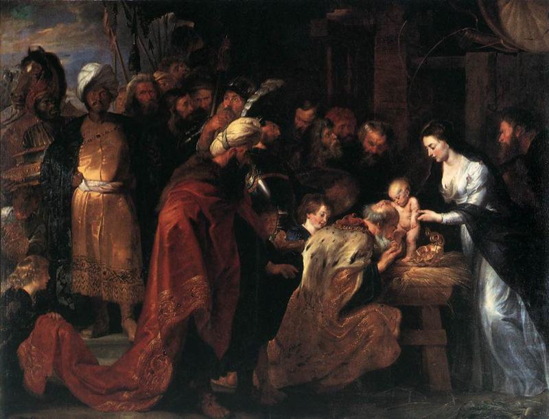 Rubens, L'adoration des mages